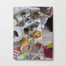 Ice Cream Social 2 Metal Print