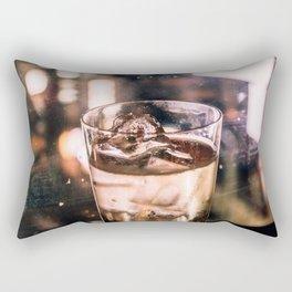 Golden shimmer - Bar Rectangular Pillow