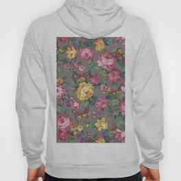 butterflies & roses Hoody
