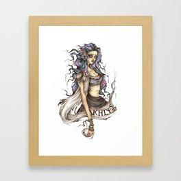 Akhlys Framed Art Print