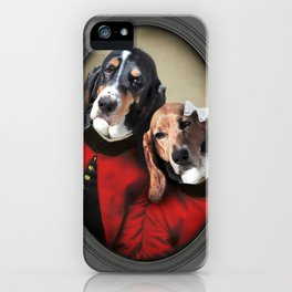 Hound Love iPhone Case