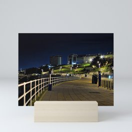 View of Plymouth Hoe at Night / Early Morning Mini Art Print