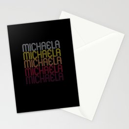 Michaela Name Gift Personalized First Name Stationery Cards