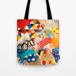 Wallpaper and Diamonds Part I Tote Bag