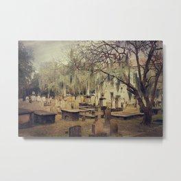 Charleston Circular Cemetery Metal Print