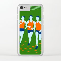 Stars of Track and Field are Beautiful People Clear iPhone Case