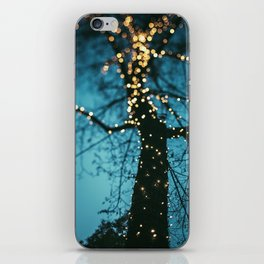 Bokeh tree. iPhone Skin