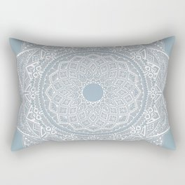 Dedication to Dalton (gray-blue) Rectangular Pillow