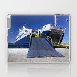 Ionian ferry Ramp Laptop & iPad Skin