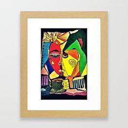 OdetoP Framed Art Print