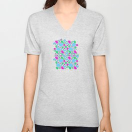 Candy chaotic storm Unisex V-Neck