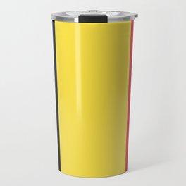 Flag of Belgium Travel Mug