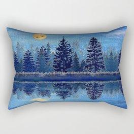 Denim Design Pine Barrens Reflection Rectangular Pillow