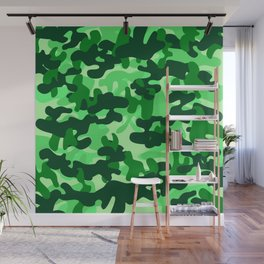 Camouflage (Green) Wall Mural