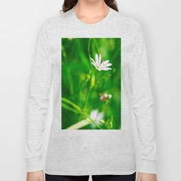 Wildflowers and grass Long Sleeve T-shirt
