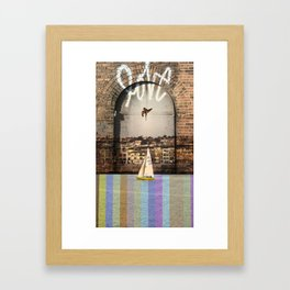 LoveDive Framed Art Print