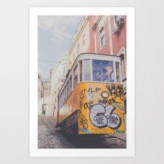Traveling Art Print