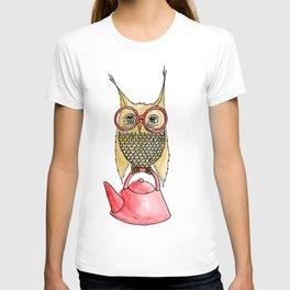 Owl Start the Kettle T-shirt