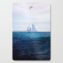 Sailing Ship on the Sea Cutting Board