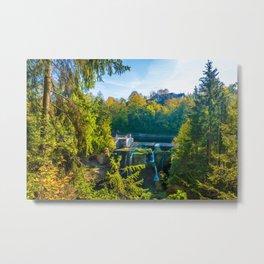 Alpine autumn, Austria Metal Print