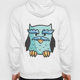 Pensioner pension old owl owl man Grandpa comic gift Hoody