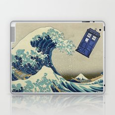 The Great Wave Doctor Who Laptop & iPad Skin
