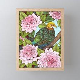 Whistling Fruit Dove in Spring Framed Mini Art Print