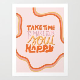 Happy Soul Art Print