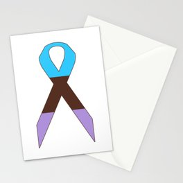 Androsexual Ribbon Stationery Cards