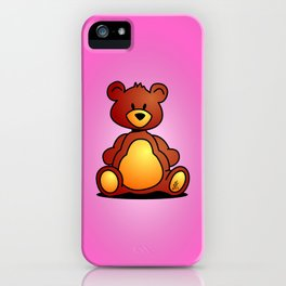Cuddly Teddy Bear iPhone Case