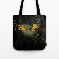 mike wrobel Tote Bags featuring Mike by Arian Noveir