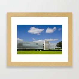 Oscar Niemeyer's Brasília Palace Hotel Framed Art Print