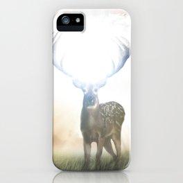 Bright Deer iPhone Case