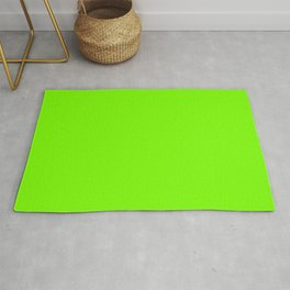 Lawn Green - solid color Rug