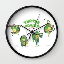 Ninja Turtles Turtle Power Wall Clock