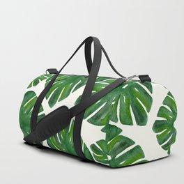 Monstera Duffle Bag