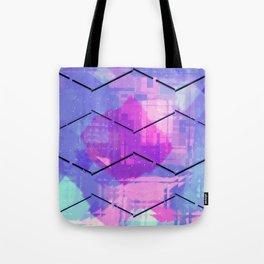 Pastel Surf Art Tote Bag