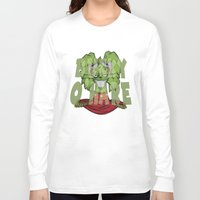 bucky Long Sleeve T-shirts featuring Bucky by Twisted Dredz