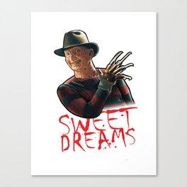 Sweet Dreams by Freddy Canvas Print