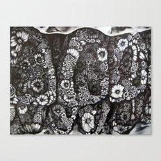Flower Teeth  Canvas Print