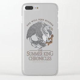 The Summer King Chronicles - One Will Rise Higher Clear iPhone Case