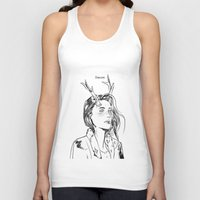 dancer Tank Tops featuring Dancer by Cassandra Jean