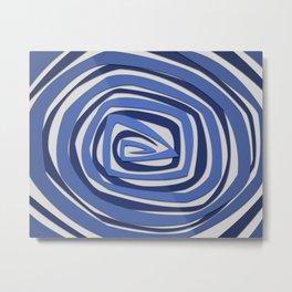Vortex Spiral Metal Print