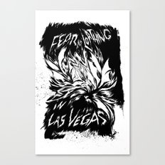 Fear & Loathing inks Canvas Print