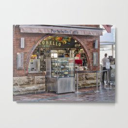 Portobello Caffe Metal Print