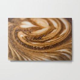 Coffee Close Up Metal Print
