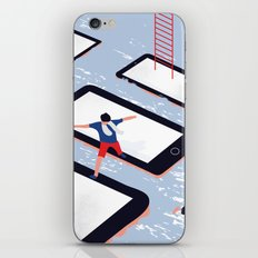 HERE WE ARE iPhone Skin