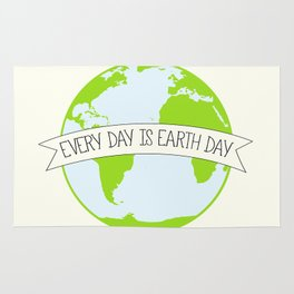 Every Day is Earth Day Rug