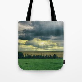 Broken skies Tote Bag