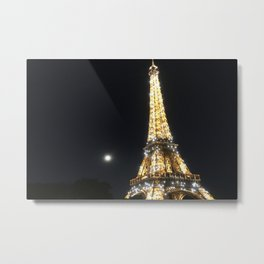 Paris, France - Eiffel Tower Metal Print